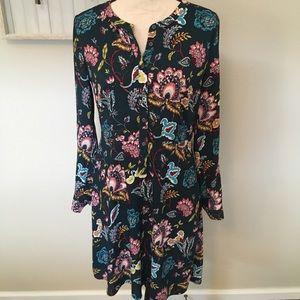 Beautiful floral pattern dress